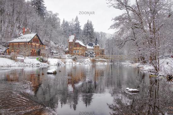 snowy Bodetal Treseburg