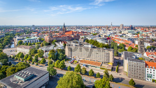 Panoramic view of Hanover
