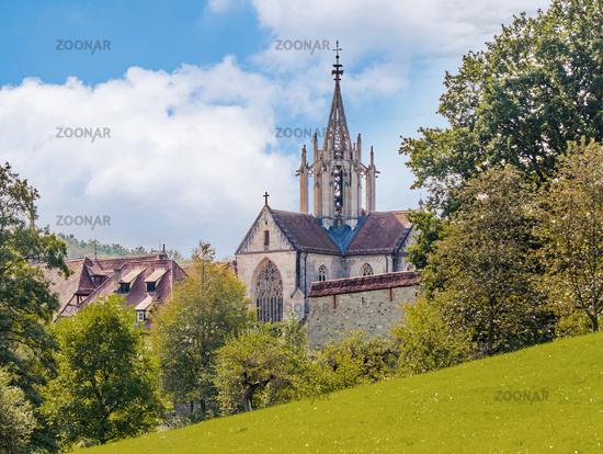 Kloster Klosterkirche,  Bebenhausen bei Tübingen, Baden-Württemberg