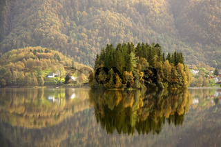 Herbst in Norwegen