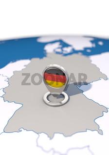 Ziel Deutschland, Hochformat