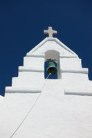 Bell tower in Mykonos