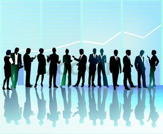 Konferenz Versammlung.eps