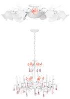 Honeymoon vintage lamps   Isolated