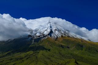 Mount Taranaki in New Plymouth, New Zealand