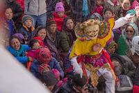 Hello, I'm here! Mask dance festival, Ladakh.