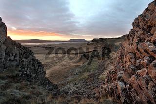 Southern iceland sunrise