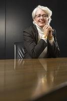 Senior business woman