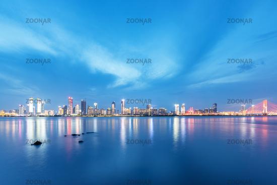 beautiful night scene in Nanchang