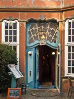 Rococo Door at Schnoor, Germany