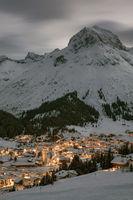 Night shot in Lech am Arlberg