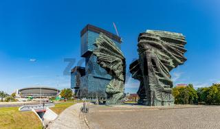 Silesian Insurgents' Monument, Spodek and .KTW Buildings