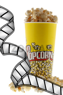 Popcorn and film