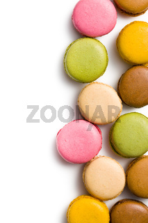 various types of macaroons