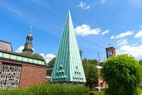 Hamburg, Norwegian Sailor's Church, Germany