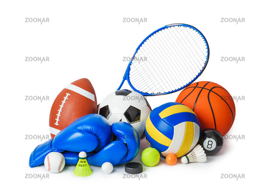 Set of sport equipment