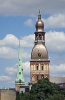 Evangelical Lutheran Riga Dome Cathedral. Riga