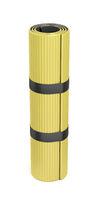 Yellow exercise mat