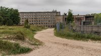 Prora on Ruegen Island, Mecklenburg-Western Pomerania, Germany