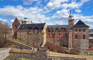 Festung Akerhus Oslo Norwegen / Castle Akershus Oslo Norway