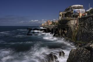 Nervi small village of Genoa