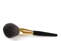 Cosmetic brush isolated on a white background.