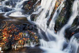 Hérisson Wasserfall, Franche-Comté, Jura, France