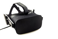 VR headset - virtual reality glasses for simulation of reality for different multimedia