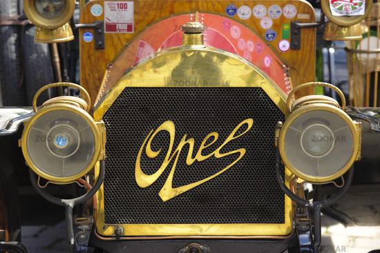 oldtimer car opel