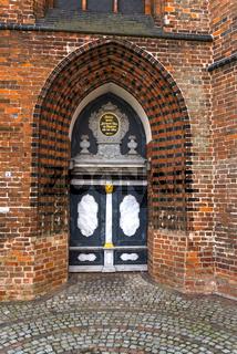 Wismar, St. Nikolai, Hansestadt, Mecklenburg-Vorpommern, Deutschland
