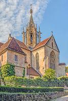 Klosterkirche,  Bebenhausen bei Tübingen, Baden-Württemberg