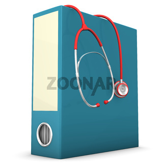 Stethoscope Folder
