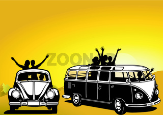 Ausflug im Auto.eps