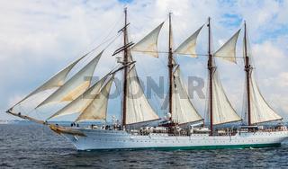 Ship Juan Sebastian de Elcano