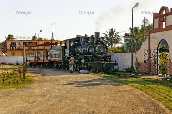 Steam locomotive, José Smith Comas, Cuba