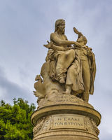 Couple Sculpture, Athens, Greece