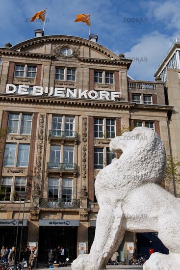 DeBijenkorf in Amsterdam