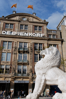 De Bijenkorf in Amsterdam