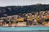 Citadelle Saint-Elme in Villefranche sur Mer in France