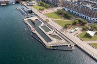 Islands Brygge Harbour Bath in Copenhagen
