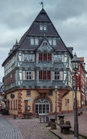 Historic half-timbered house in Miltenberg am Main, Bavaria, Germany