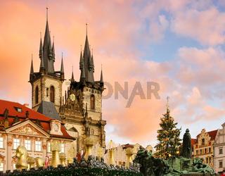 Prag Weihnachtsmarkt - Prague christmas market 02
