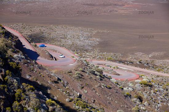 road in La Reunion
