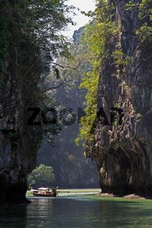 Lagune bei Hong Island, Thailand