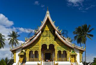 Tempel Haw Pha Bang auf dem Gelände des Königspalasts, Luang Prabang, Laos