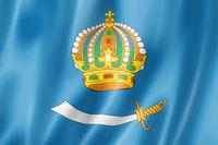 Astrakhan state - Oblast -  flag, Russia