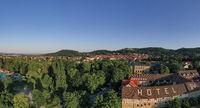 Luftbildaufnahmen aus Blankenburg im Harz