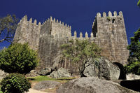 Portugal: Castle of Guimarães