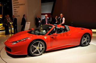 Ferrari 458 Spider auf der IAA
