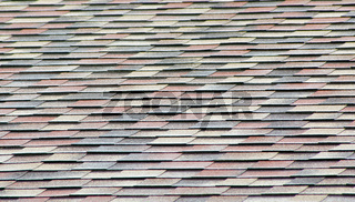 Fragment of soft roofing